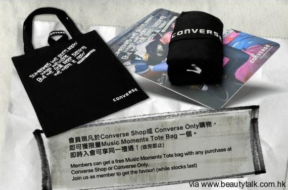 Converse Music Moments Tote Bag